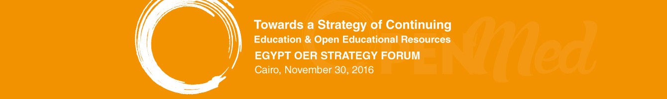 EGYPT OER STRATEGY FORUM - November 30, 2016