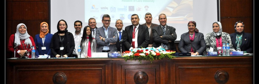 Group photo of the National Strategy Forum in Cairo, 30 November 2016